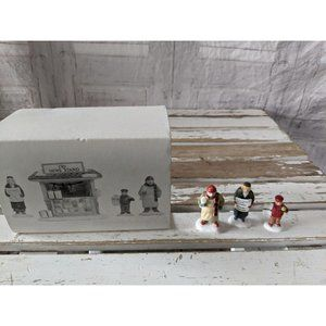 Dept 56 59714 city news stand people Only heritage